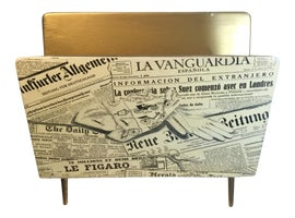 Image of Italian Magazine Racks