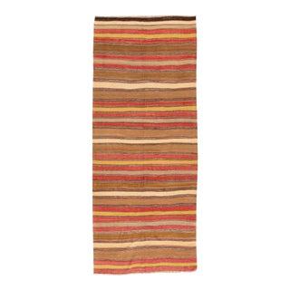 "Apadana - Vintage Kilim, 4'7"" x 10'11"" For Sale"