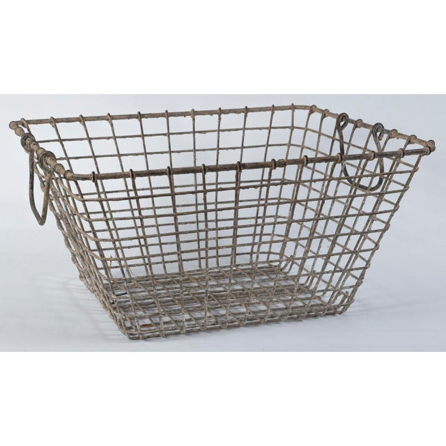 Nautical 20th Century French Oyster Baskets - a Pair For Sale - Image 3 of 11