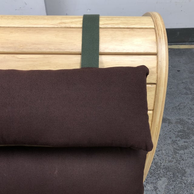 New Infinity Yoga Chair + Ottoman From Bhoga For Sale - Image 10 of 13