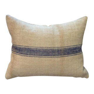 Rectangular Custom French Grainsack Pillows For Sale
