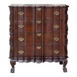 Image of Antique English Chippendale Chest of Drawers For Sale