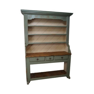 French Country Hand Crafted Hutch For Sale