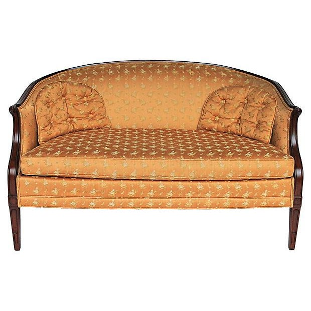 Upholstered Settee by Hickory Chair Co. - Image 1 of 10