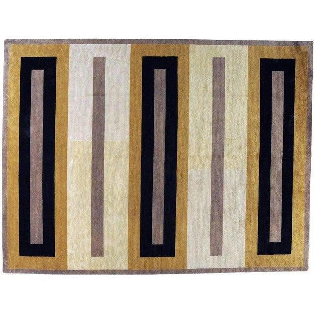 Contemporary style Tibetan rug