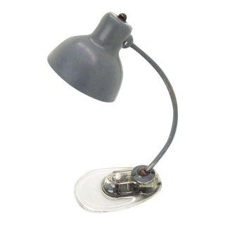 Marianne Brandt for Kandem Glass Base Table Desk Lamp For Sale