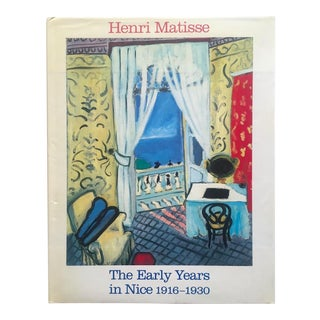 """"""" Matisse the Early Years in Nice 1916 - 1930 """" Rare Vintage 1986 1st Edition Collector's Volume Hardcover Exhibition Art Book For Sale"""