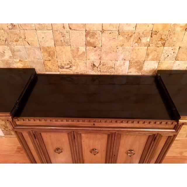 Wood Baker Furniture Bar Cart For Sale - Image 7 of 11