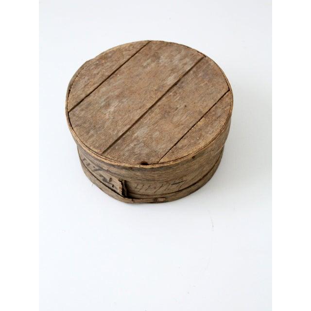 Antique Primitive Cheese Box - Image 6 of 6