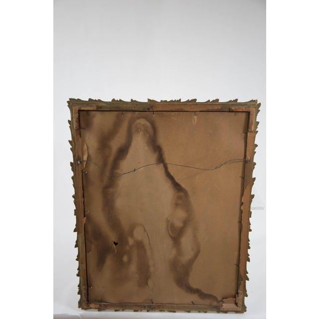 Antique Art Noveau Mirror - Image 6 of 9