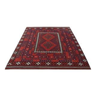 Vintage Afghan Maimana Kilim For Sale