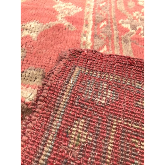"""1910s Antique Turkish Rug - 12'6"""" x 15'7"""" For Sale - Image 5 of 12"""