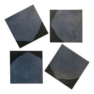"""Pierre Muckensturm """"18p13121 A-D"""", 4 Piece Painting For Sale"""