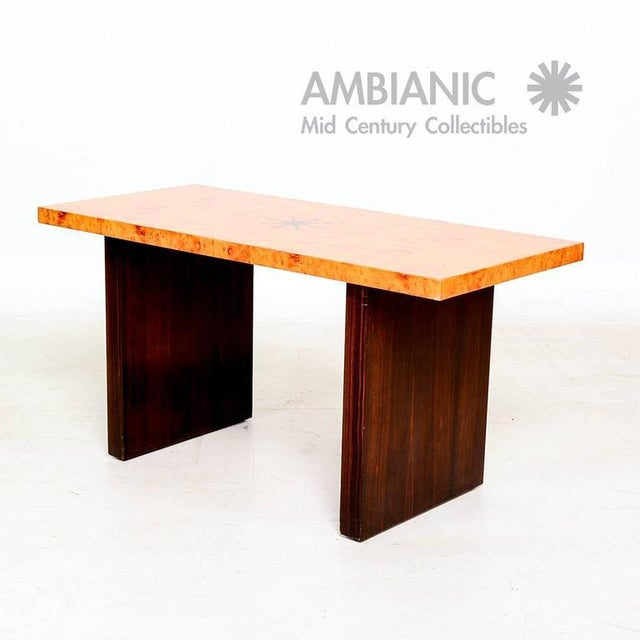 For your consideration a vintage coffee table designed and produced by Andrew Szoeke. Please click in our AMABIANIC logo...
