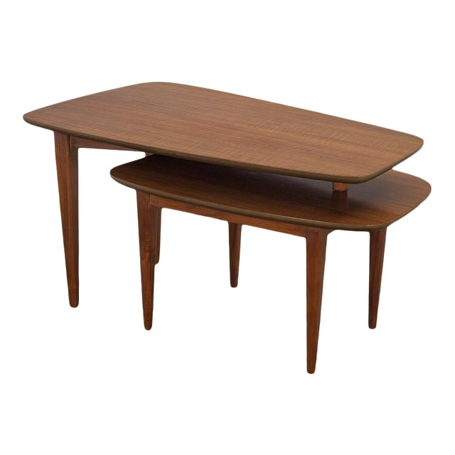 1950s Bertha Schaefer Folding Coffee Table For Sale