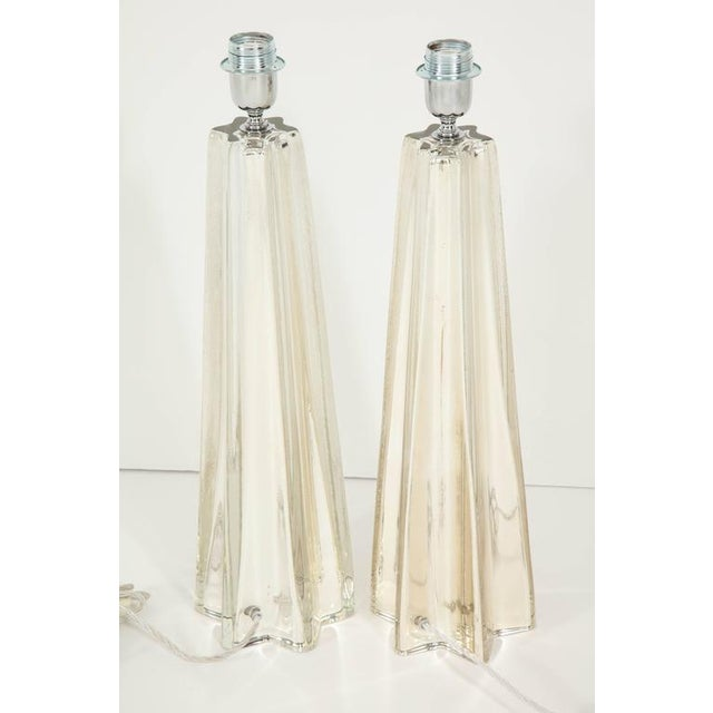 """Mercury Glass Star """"Etoile"""" Lamps - A Pair For Sale - Image 9 of 9"""