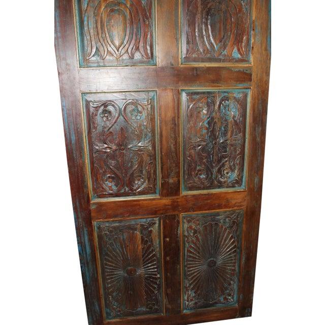 Industrial Vintage Farmhouse Door For Sale - Image 3 of 5