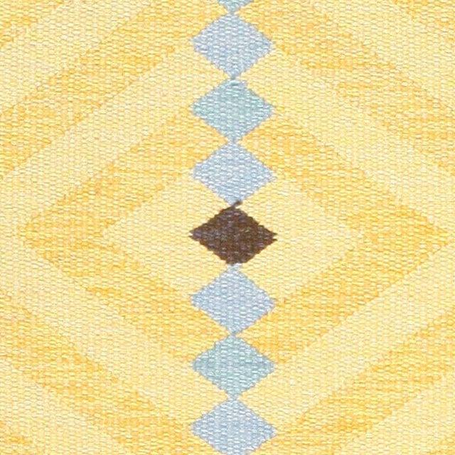 Vintage Scandinavian rug, Sweden, circa mid-20th century, here is a charming Mid-Century Modern Scandinavian rug, a...
