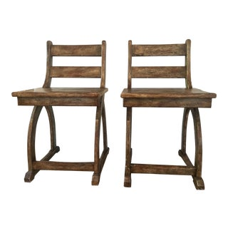 Modern William Switzer Charles Pollock Collection Park Chairs - a Pair For Sale