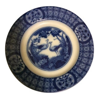 "Johnson Bros. ""Mongolia"" Flow Blue Dessert Plate For Sale"