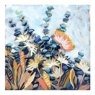 Contemporary Flower Original Painting Garden 4