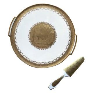 Gloria Karlovarsky Kvalitni Porculan Dessert Set For Sale