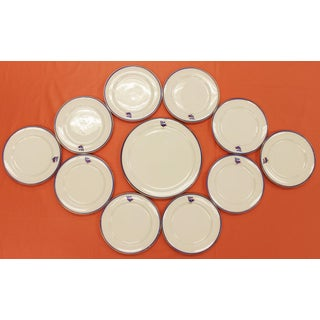1930s Private Yacht Lenox China Service - Set of 11 Preview