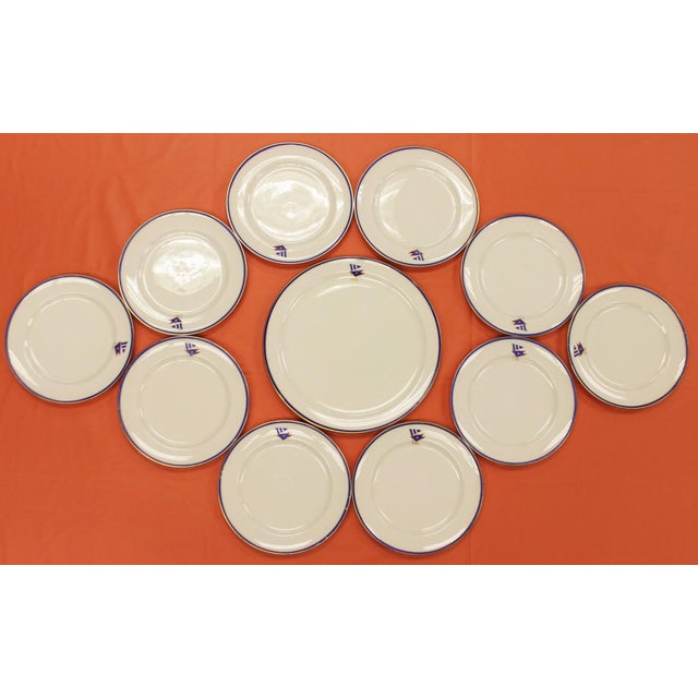 1930s Private Yacht Lenox China Service - Set of 11 - Image 2 of 7