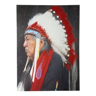 """Native American Portraits: Otoe-Missouri Chief"" by Andres Serrano"