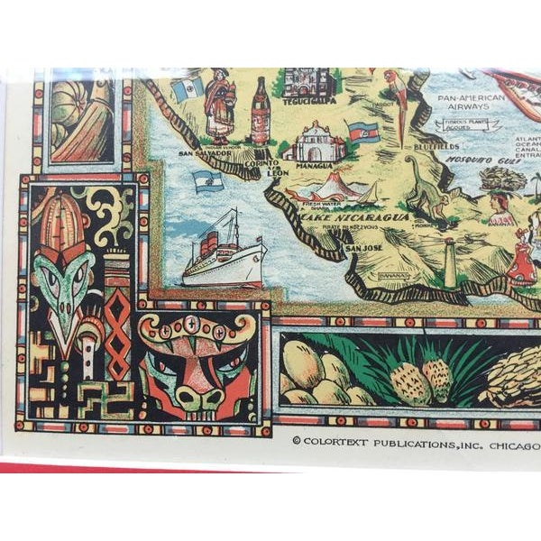 Traditional The Story Map of the West Indies For Sale - Image 3 of 4