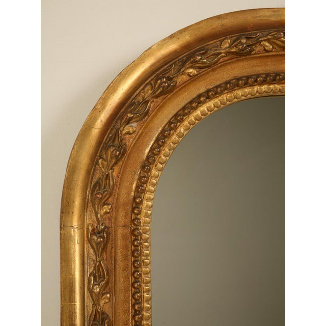 Antique French Gilded Mirror, 1800s For Sale - Image 11 of 11