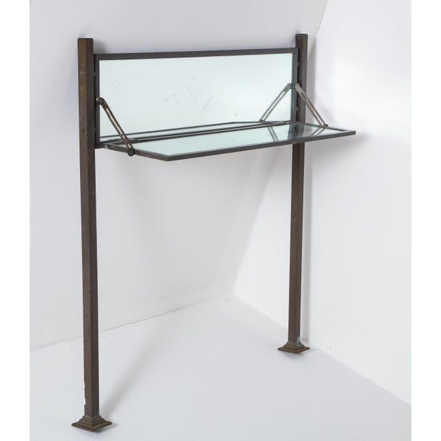 French Mirrored Adjustable Console, 1930 For Sale - Image 13 of 13