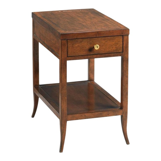 Modern Provence Chairside Table For Sale