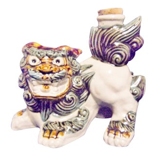 Foo Dog Sake Decanter For Sale