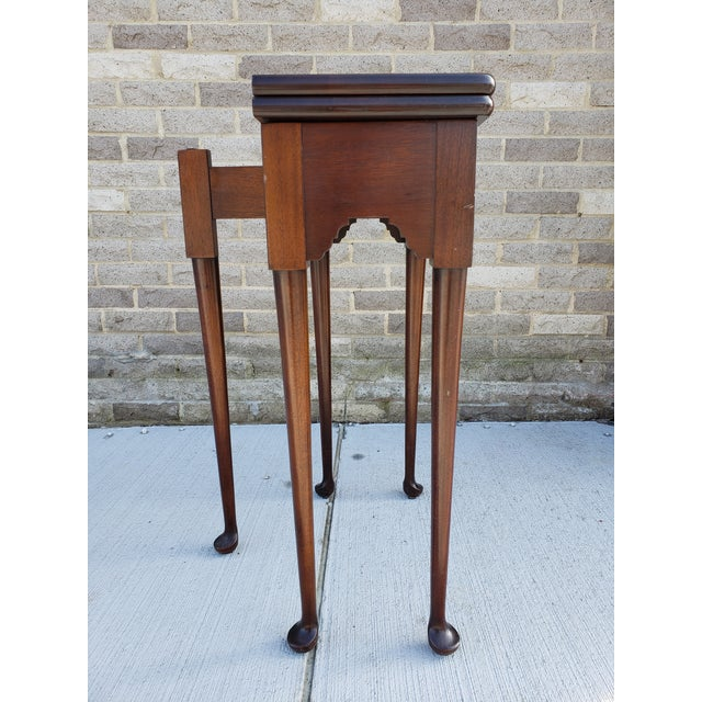 Antique French Mahagony Petite Games Table For Sale In New York - Image 6 of 13