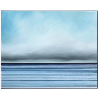 """""""Untitled No. 327"""" Contemporary Minimalist Mixed-Media Painting by Jeremy Prim, Framed For Sale"""