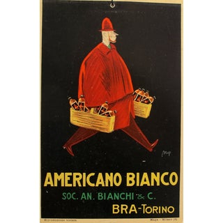 Italian Art Deco White Wine Advertisement