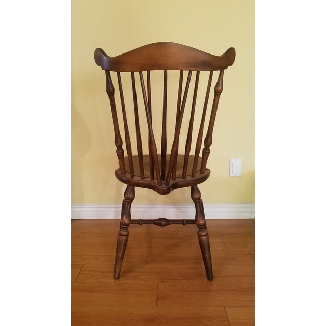 Maple Temple Stuart Maple Dining Chairs - Set of 4 For Sale - Image 7 of 10