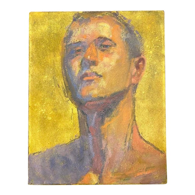 American Portrait of a Man by Bruce Knecht For Sale