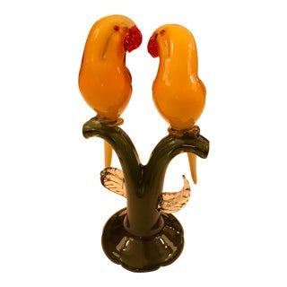 Mid Century Pair of Love Birds For Sale