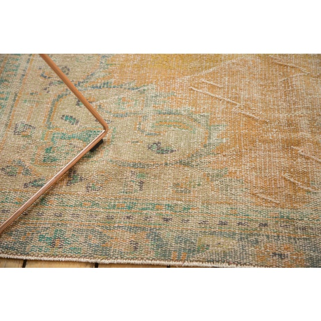 "Vintage Distressed Oushak Carpet - 6'3"" X 8'6"" - Image 4 of 11"