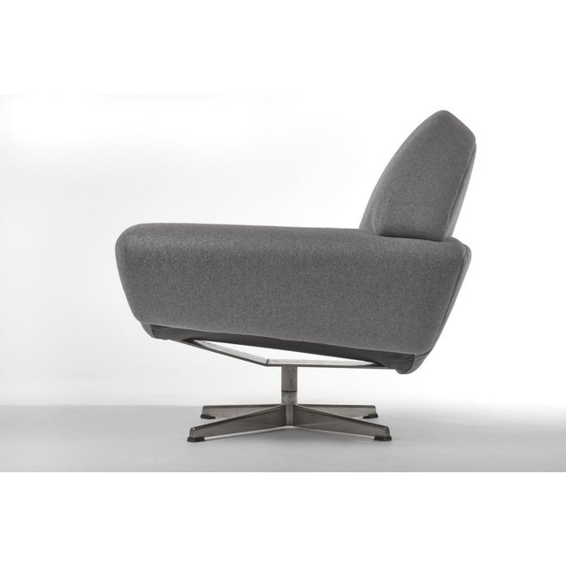 1960s 1960's VINTAGE JOHANNES ANDERSEN CAPRI SWIVEL CHAIRS- A PAIR For Sale - Image 5 of 8
