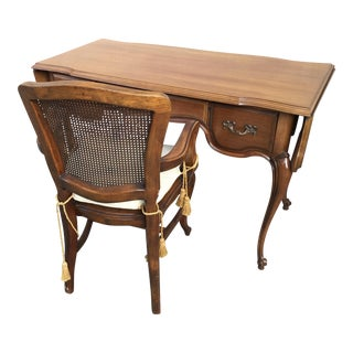 Brandt Provincial Desk And Chair For Sale