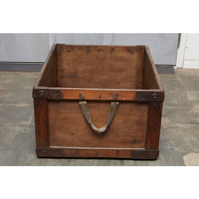 Gentles Baking CO. Wooden Delivery Box For Sale In Los Angeles - Image 6 of 8