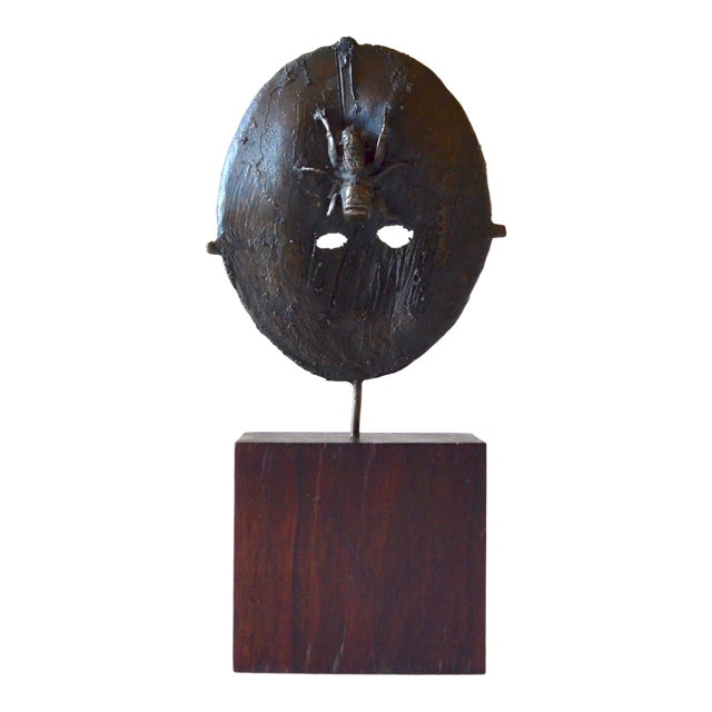 Mid Century Modern Bronze Sculpture, France 1960s For Sale