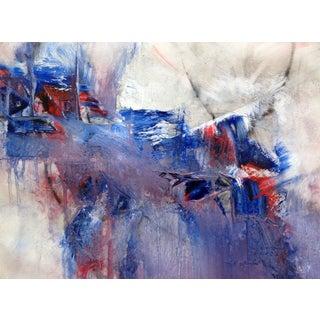 """""""Clandestine Statecraft"""" Oil Painting"""
