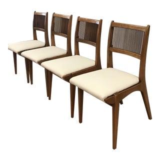 1960's Mid-Century John Van Koert for Drexel Dining Chairs- Set of 4 For Sale