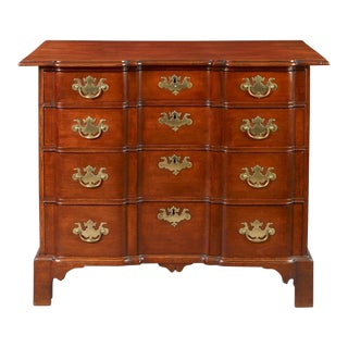 Wendell Family Chippendale Blocked-Front Chest