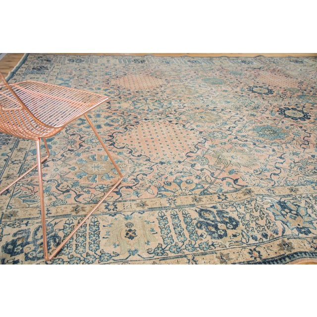 "Vintage Kashan Carpet - 10'1"" X 14'2"" - Image 6 of 10"