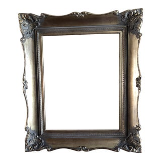 1960's Carved Gold Gilt Frame for Painting For Sale